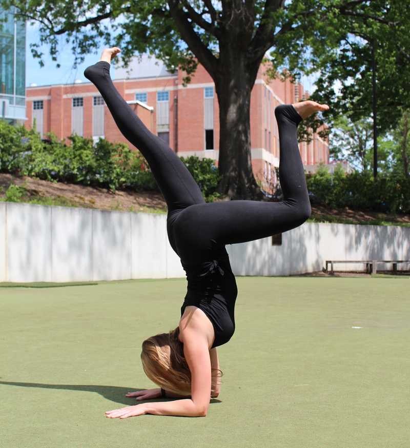 Forearm Stand Variation